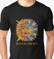 VINTAGE PATH OF TOTALITY SOLAR ECLIPSE 2017 T SHIRT T-Shirt