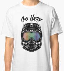Motocross dirt motorbike helmet Classic T-Shirt