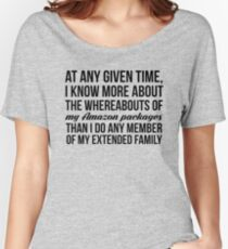 At Any Given Time Women's Relaxed Fit T-Shirt