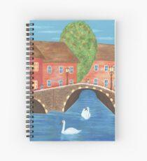 The Cozy Village Spiral Notebook