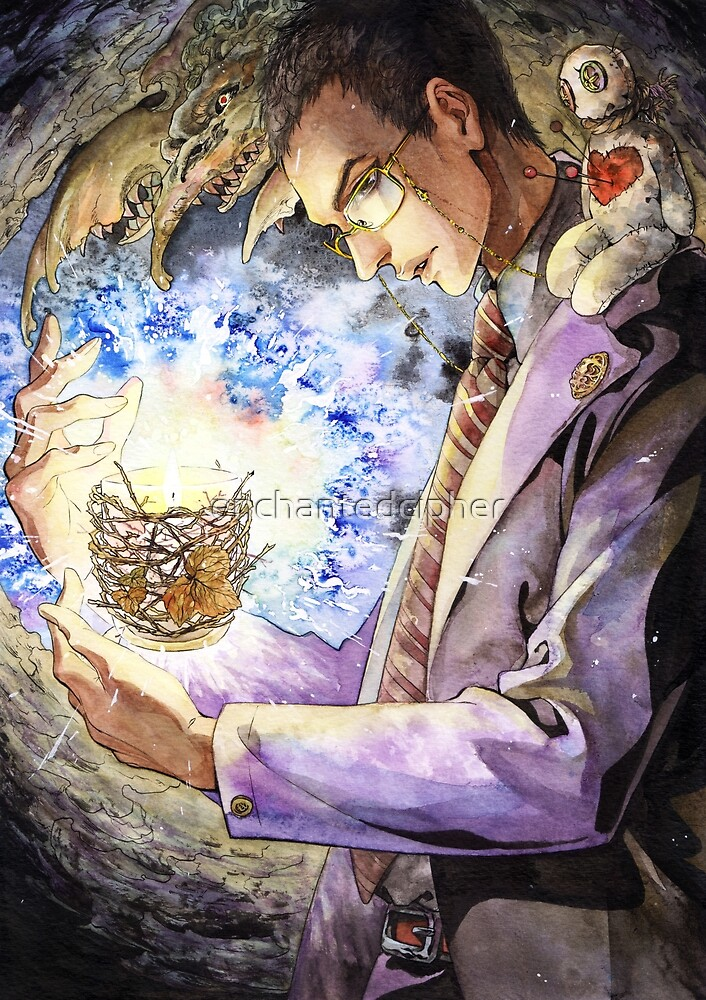 Witch Doctor Ozymandias: Ozymandias Brown by enchantedcipher