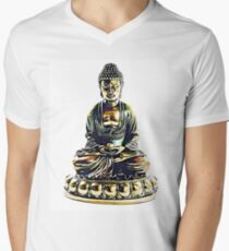 Illustration with Buddha T-Shirt
