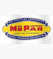 Old MoPar logo Poster
