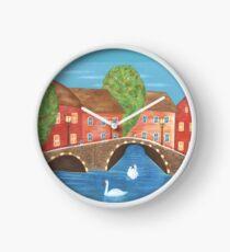 The Cozy Village Clock