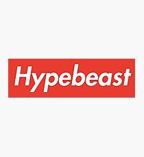 Hypebeast  Photographic Print