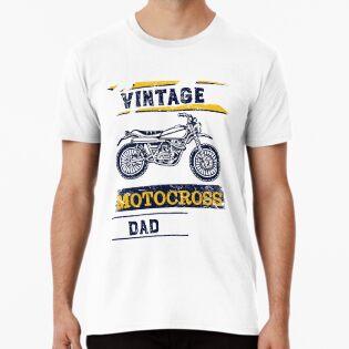 20d01e76b Vintage Motocross Dad Dirt bike Graphic Design