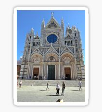 Duomo di Siena - Cathedral of Siena III Sticker