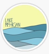 Lake Michigan  Sticker