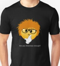 Sheerio-Effect Sheerious Emoji Unisex T-Shirt