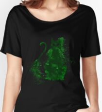 mystery cat halloween Women's Relaxed Fit T-Shirt