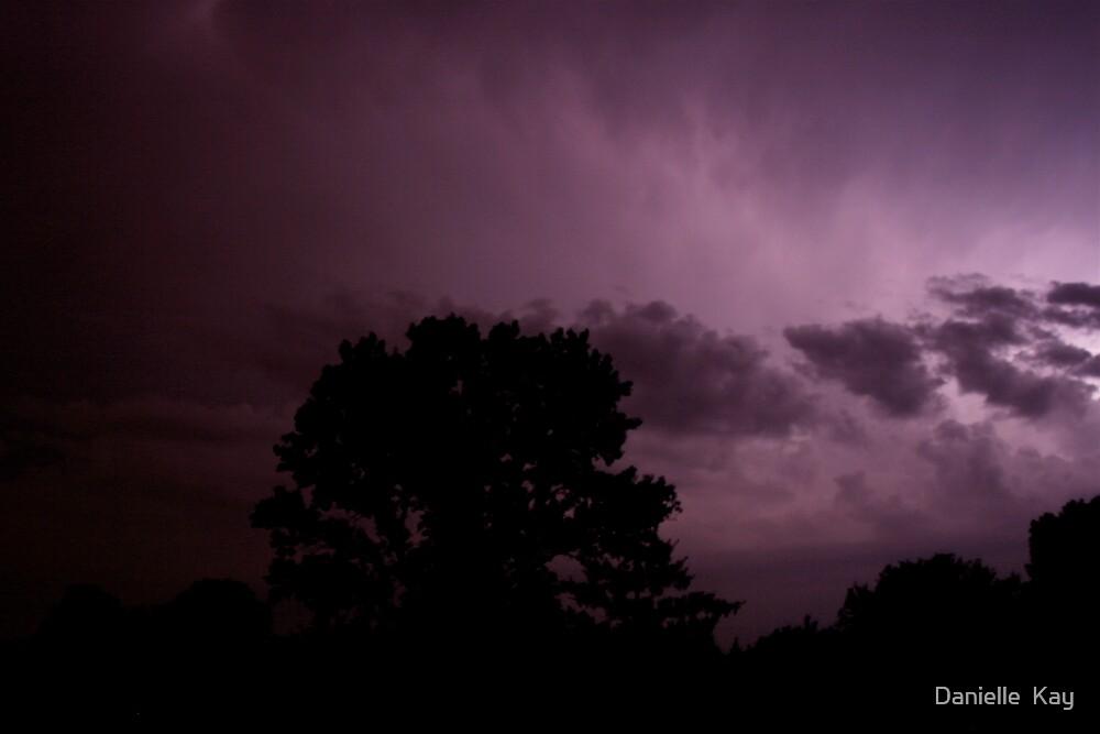 purple clouds by Danielle  Kay