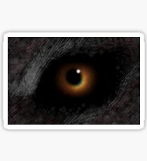 The EVIL EYE Of The Eclipse! Sticker