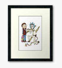 Doc and Morty Framed Print
