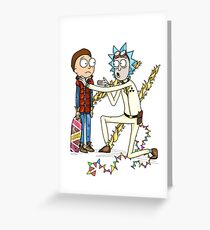 Doc and Morty Greeting Card