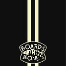 Charcoal with Stripes and Logo by BoardsNBones