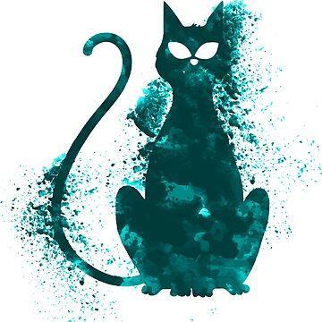 I love my Cat mystery cat by Delpieroo