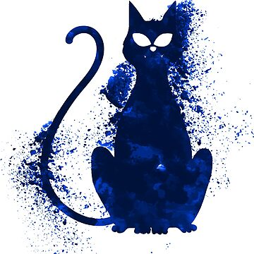 Mystery Evil Cat by Delpieroo