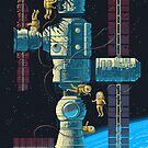 Scene #42: 'Micrometeorites' by Octavi Navarro (Pixels Huh)
