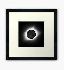 North America Total Solar Eclipse 2017 Framed Print