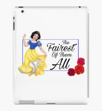 Snow White- Fairest of Them All iPad Case/Skin