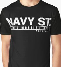 navy street Graphic T-Shirt