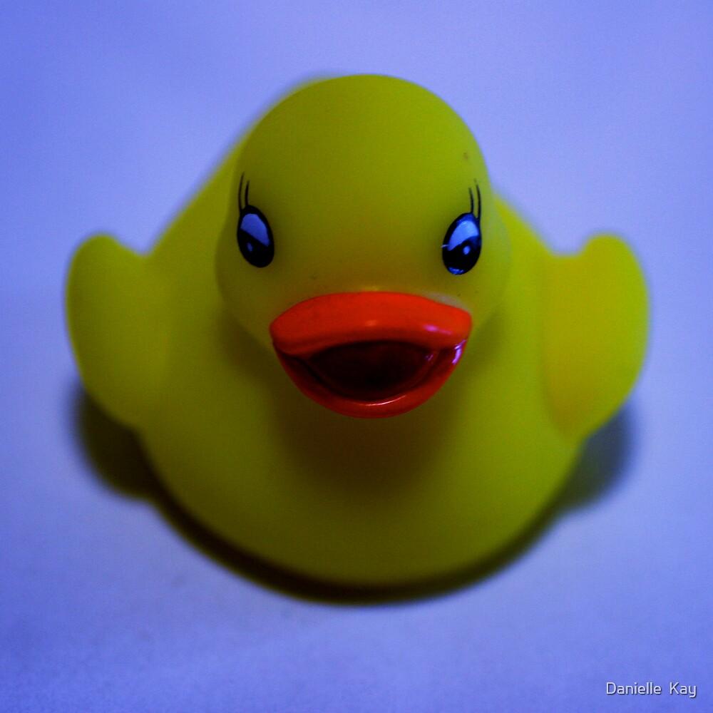 glowing duck by Danielle  Kay