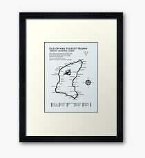The Isle of Man TT Framed Print
