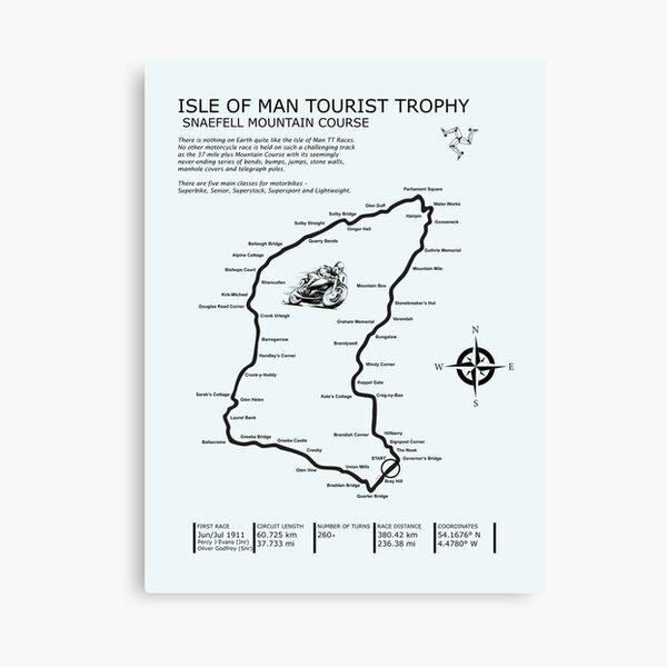 The Isle of Man TT Canvas Print