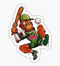 Baseball Monkey - Limerick Sticker