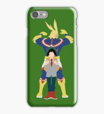 All Might & Midorya  iPhone Case/Skin