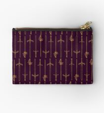 Swords - Gold & Purple Studio Pouch