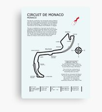 Circuit De Monaco Canvas Print