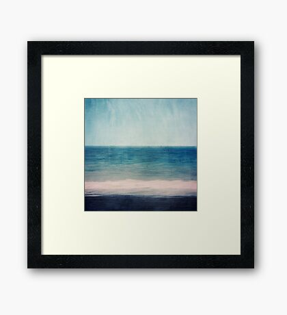 Absctract Seascape No 1 Framed Print
