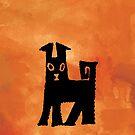 Abstract Dog by ChineseZodiac