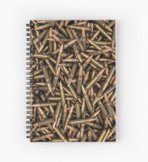 Rifle bullets Spiral Notebook