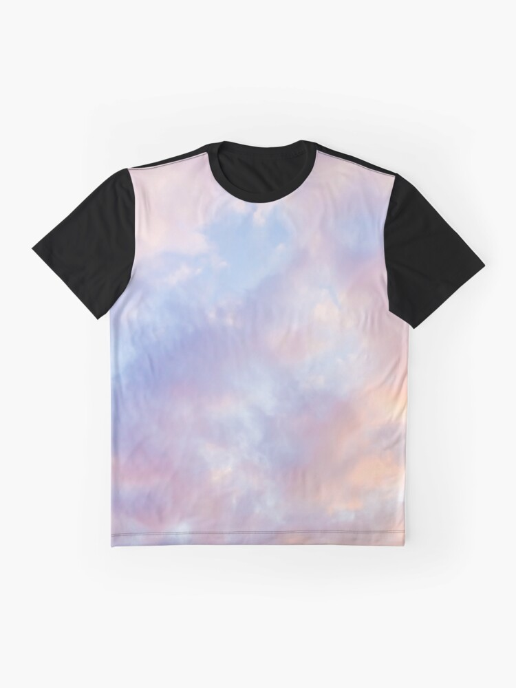 Alternate view of Pink sky Graphic T-Shirt