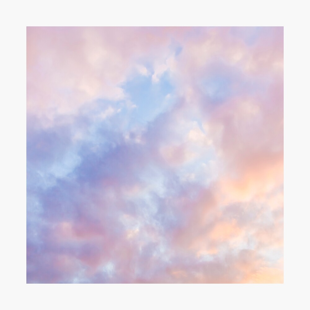 Pink sky Photographic Print