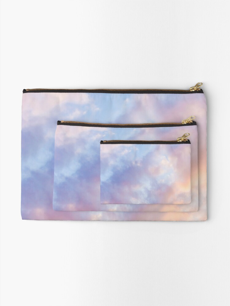 Alternate view of Pink sky Zipper Pouch