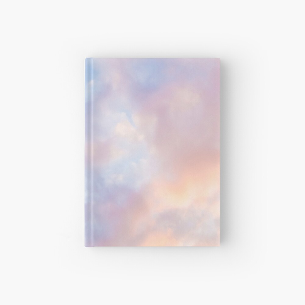 Pink sky Hardcover Journal