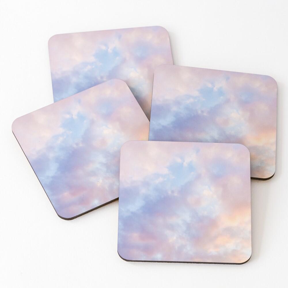 Pink sky Coasters (Set of 4)