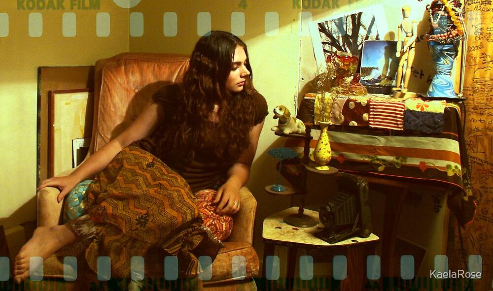 Me in my studio. by KaelaRose