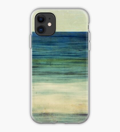 Abstract Seascape No 2 iPhone Case