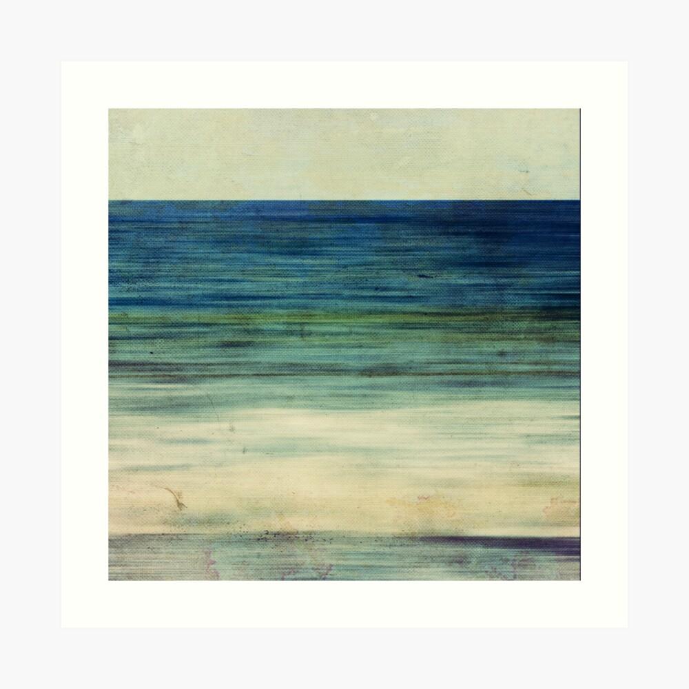 Abstract Seascape No 2 Art Print