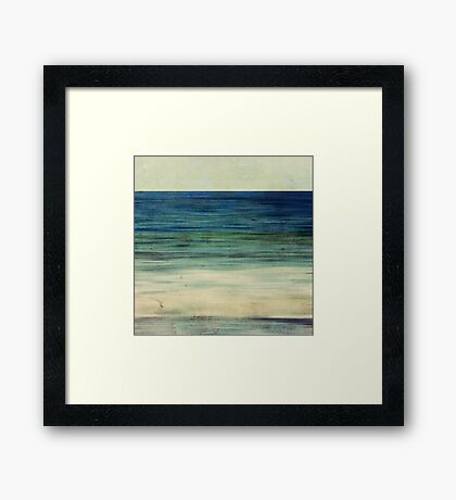 Abstract Seascape No 2 Framed Print