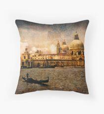 Painted Venice Throw Pillow