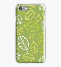 Carob Tree Leaves iPhone Case/Skin