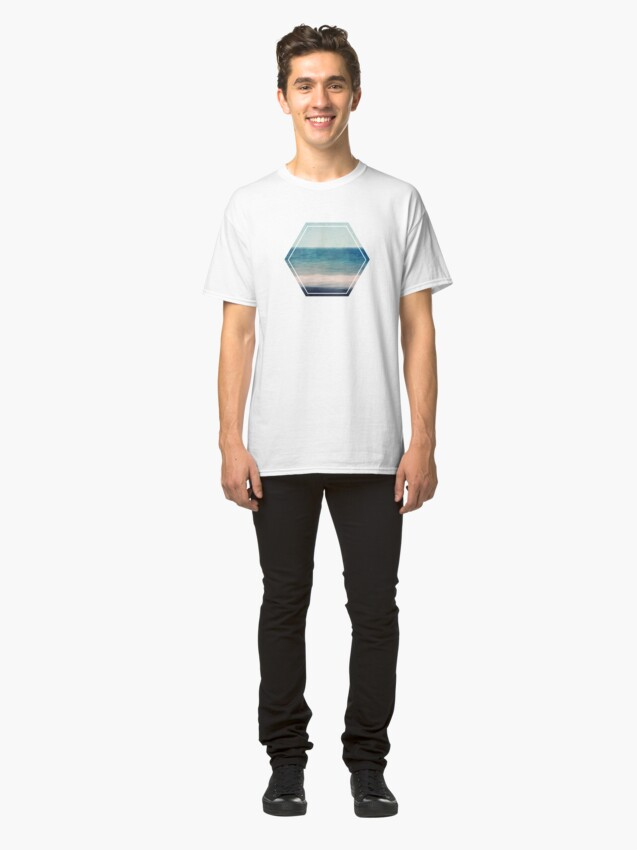 Alternate view of Abstract Seascape No 3 Classic T-Shirt