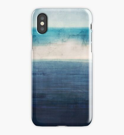 Abstract Seascape No 3 iPhone Case