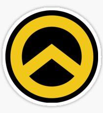 Identitarian Movement Lambda Sticker Sticker