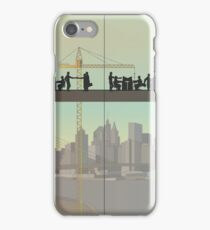 Work in a big company. Motivation Monday. Full Size iPhone Case/Skin
